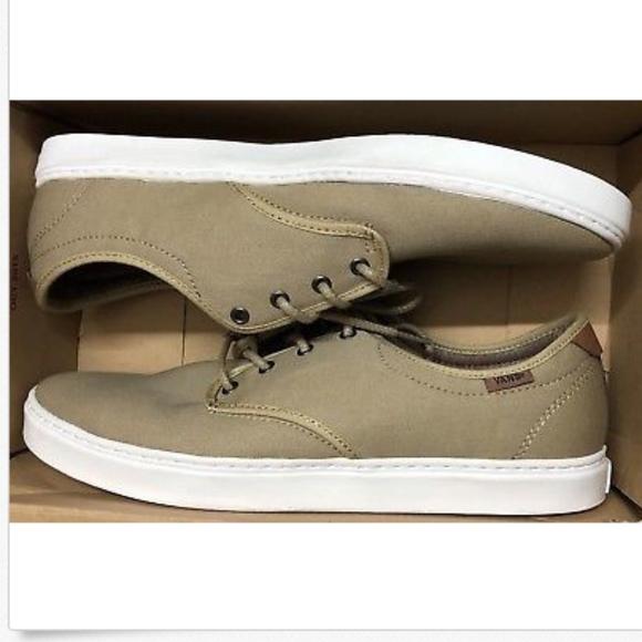 626bf95290 Vans Ludlow T L Khaki White Shoes Size Men 11